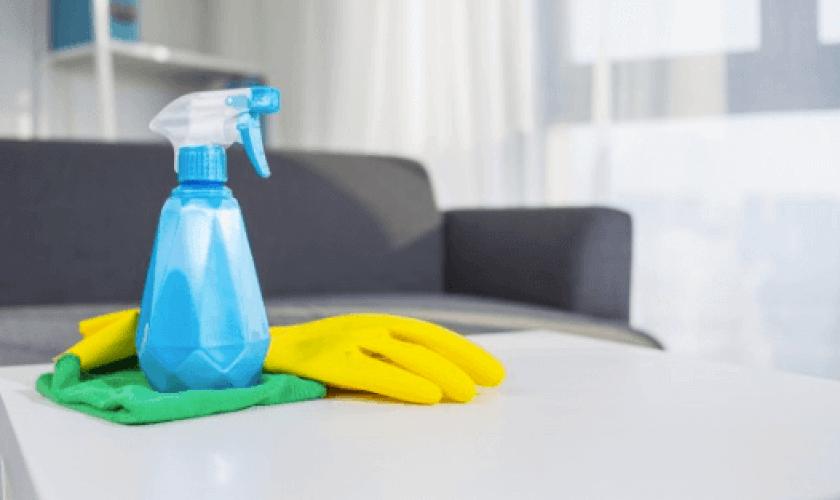 Mantén la casa limpia sin usar productos químicos