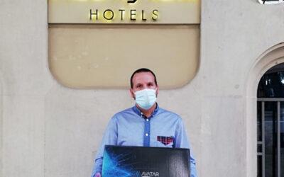 EcoFrog cede máquinas Avatar a instalaciones medicalizadas que albergan enfermos de COVID19
