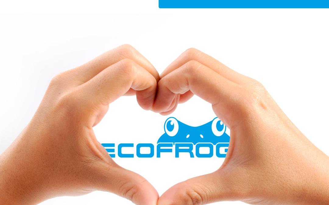 Ecofrog cumple 6 años